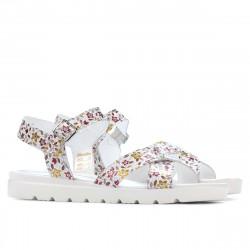 Women sandals 5049 floral multicolor