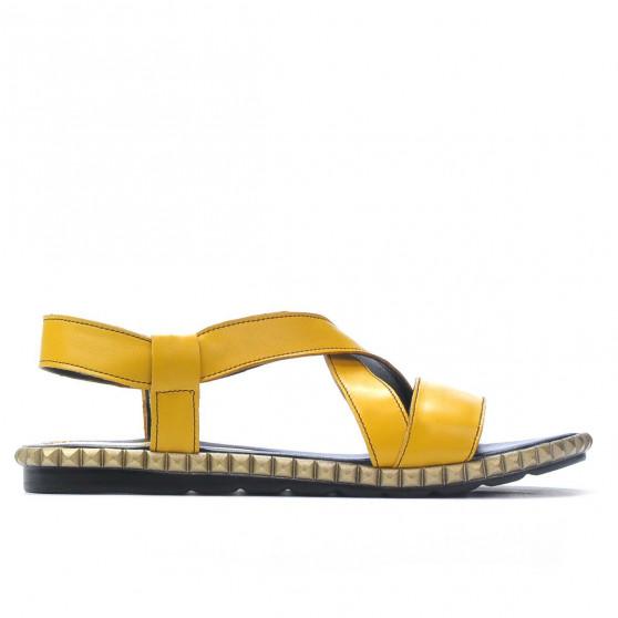 Sandale dama 5050 galben