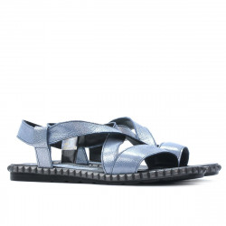 Sandale dama 5050 bleu argento