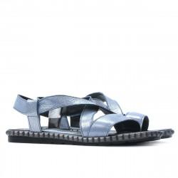 Women sandals 5050 bleu argento