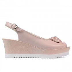 Sandale dama 5053 pudra