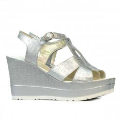 Sandale dama 5054 argintiu sidef