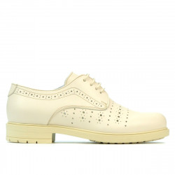 Women casual shoes 6001 beige