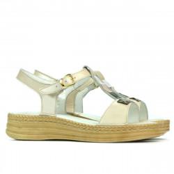 Sandale dama 5040-1 bej