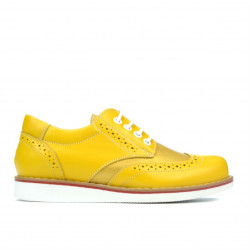 Children shoes 154 yellow combined