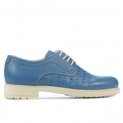 Women casual shoes 6001 blue
