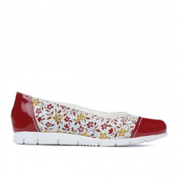 Children shoes 171 patent red combined