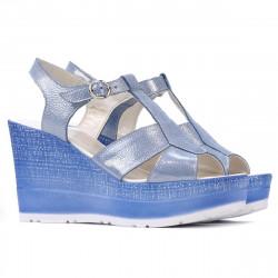 Sandale dama 5054 bleu argento
