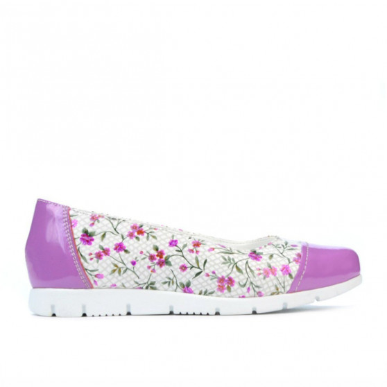 Children shoes 171 patent purple combined