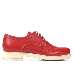 Women casual shoes 6001 red