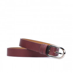 Women belt 07m biz bordo