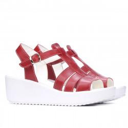 Women sandals 5023 red