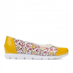 Children shoes 171 yellow combined