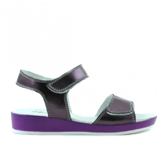 Children sandals 532 purple pearl
