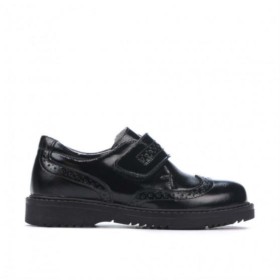 Pantofi copii mici 65c lac negru