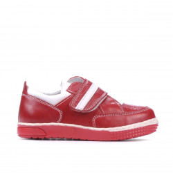 Small children shoes 64c red+white