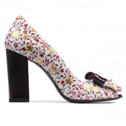 Women sandals 1271 grena floral multicolor