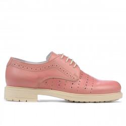 Pantofi casual dama 6001 rosa