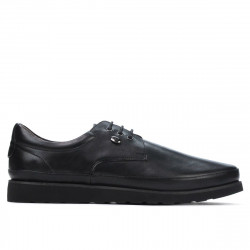 Men casual shoes 889 black
