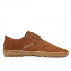 Men loafers, moccasins 871 bufo brown