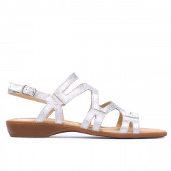 Women sandals 5056 silver