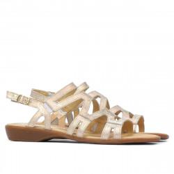 Women sandals 5056 golden
