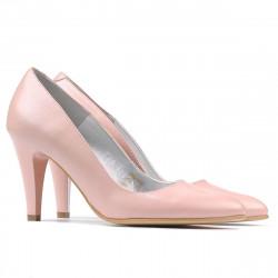 Women stylish, elegant shoes 1234 pudra pearl