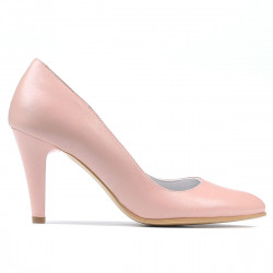 Women stylish, elegant shoes 1234 pudra pearl