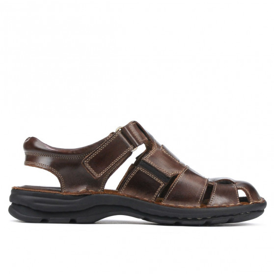 Men sandals 343 tuxon brown