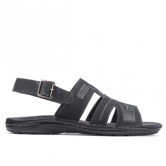 Sandale barbati 314 tuxon negru