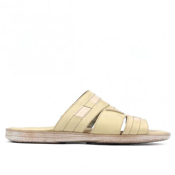 Men sandals 300 beige