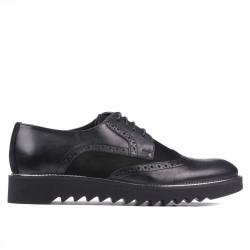 Pantofi casual barbati 831 negru combinat