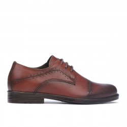 Children shoes 161 a cognac