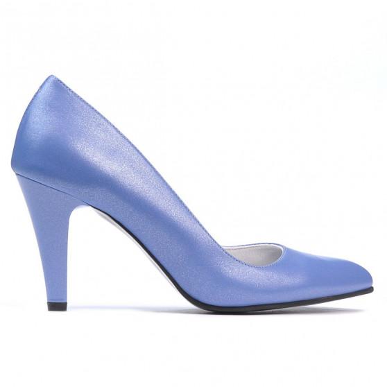 Pantofi eleganti dama 1234 bleu sidef