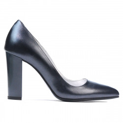 Women stylish, elegant shoes 1261 antracit
