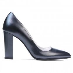 Women stylish, elegant shoes 1261 antracit