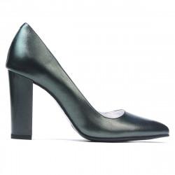 Pantofi eleganti dama 1261 verde sidef
