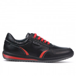 Pantofi sport adolescenti 374 negru