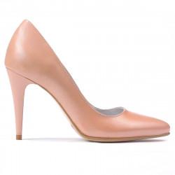 Pantofi eleganti dama 1246 pudra sidef