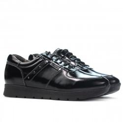 Women sport shoes 6003 patent black
