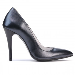 Women stylish, elegant shoes 1241 antracit
