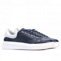 Women sport shoes 6008 indigo+white