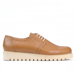 Women casual shoes 6007 brown