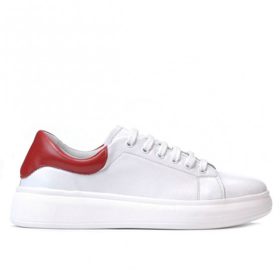 Women sport shoes 6008 white combined