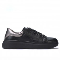Women sport shoes 6008 black combined