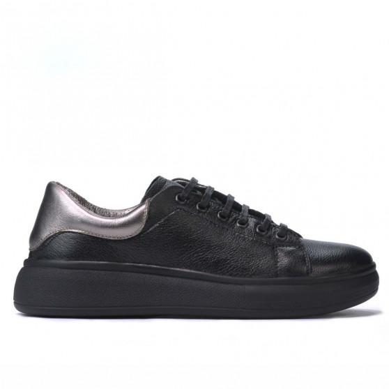 Pantofi sport dama 6008 negru combinat