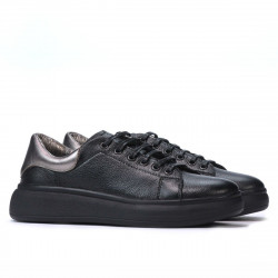 Women sport shoes 6008 black combined