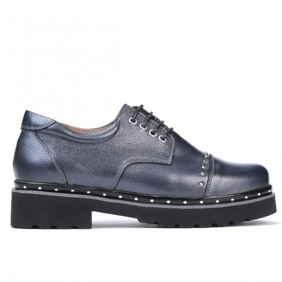 Pantofi casual dama 6009 antracit sidef