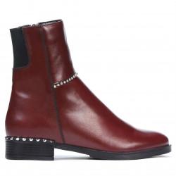 Women boots 3331 bordo