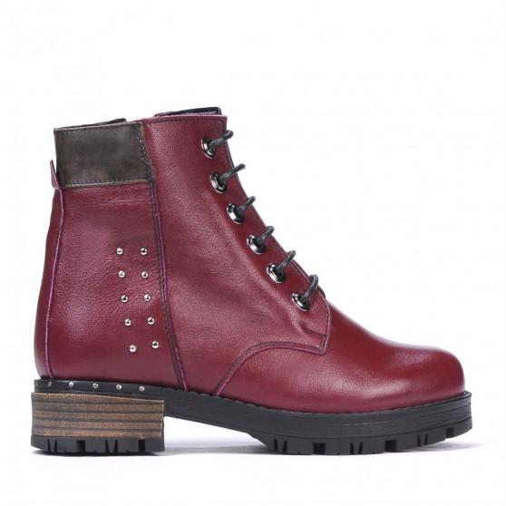 Children boots 3014 bordo
